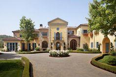 The Mendenhall Estate – A Tuscan Inspired Estate In Topanga, CA