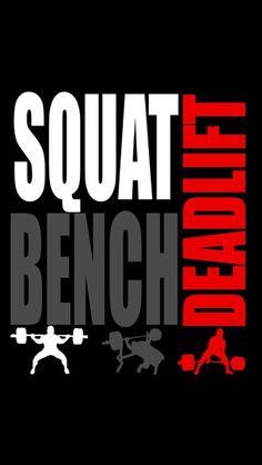 the fundamentals #powerlifting #bench #squat #deadlift