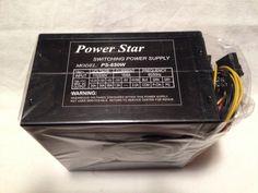 NEW Power Star 650W ATX Power Supply (204 Pin) SATA PS-650W Bulk Packaged