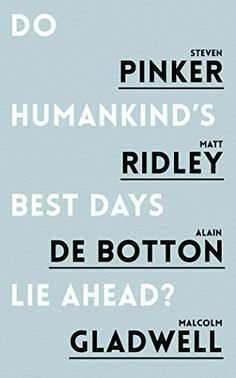 I thought that the con side's arguments were fresher and well explained (or maybe I'm just biased towards the two popular authors, de Botton and Gladwell) while the pro side's wasn't as thought-provoking as I expected. Nonetheless, I couldn't be convinced as well to change from having an optimist's outlook. The Polyanna's win.