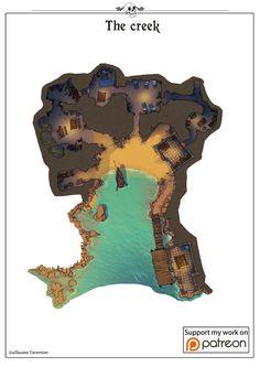 FANTASY MAPS Guillaume Tavernier