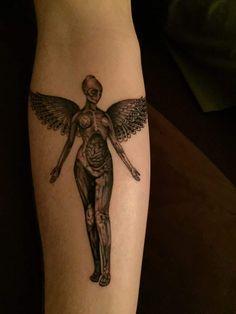 In Utero. Think Tank Tattoo in Denver, CO by Adam van Deutekom
