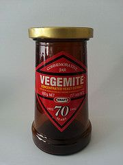 Vegemite commemorative jar