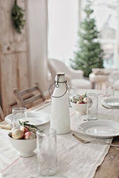 .white table