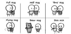 HelloQuizzy.com: The how much do I want to hug you Test Hugs And Cuddles, Hug You, Cuddling, Haha, Things I Want, Bear, Humor, Comics, Funny