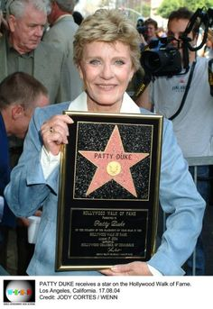 Patty Duke - past away on March Hollywood Boulevard, Hollywood Walk Of Fame, Tequila Rose, Patty Duke, Yesterday And Today, In Loving Memory, Trivia, Biography, Movie Stars