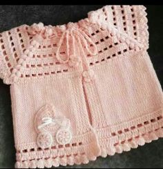 Newest Collared Hand Knitted Baby Vest Models - Bebek trikolar - . Newest Collared Hand Knitted Baby Vest Models - Bebek trikolar - Always wanted to . Baby Knitting Patterns, Hand Knitting, Crochet Patterns, Kylie Jenner, Zapatos Nike Air, Vestidos Bebe Crochet, Beginning Crochet, Under Armour, Moda Emo
