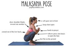 Pin now, practice malasana pose later! Wearing: kira grace leggings c/o, montiel bra. Using: Jade harmony yoga mat.