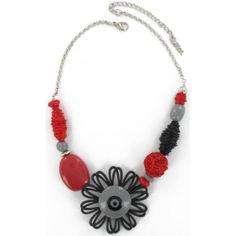 Nouvelle Collection #Noa Les fées papillons - Collier Rose #bijoux #femme #fantaisie #mode