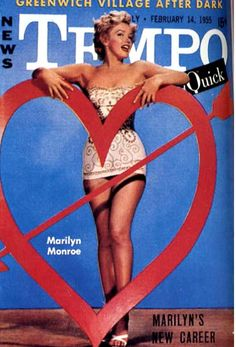 Marilyn, 1955