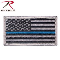4aecd76d2e7bc Rothco Thin Blue Line Police U.S. Flag Patch The Thin Blue Line is a symbol