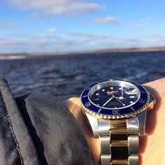Men watches : invicta blue dial