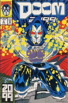 Doom 2099 # 2 by Pat Broderick & John Beatty