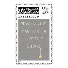 Little Stars Postage Stamps. This is a fully customizable business card and available on several paper types for your needs. You can upload your own image or use the image as is. Just click this template to get started!
