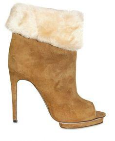 Max Kibardin...$1,300 shearling booties.  Love these!!!