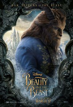 "Watch the brand new trailer for Disney's ""Beauty and the Beast"" starring Emma Watson & Dan Stevens. See the film in theatres March Fera Disney, Arte Disney, Disney S, Disney Movies, Beauty Beast 2017, Disney Beauty And The Beast, Series Poster, New Poster, Dan Stevens As Beast"