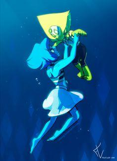 """"""" Steven Universe, Lapis Lazuli and Peridot Steven Universe Lapidot, Steven Universe Gem, Cartoon Network Shows, Cartoon Tv Shows, Universe Images, Universe Art, Lapis And Peridot, Amethyst, Cosplay"""