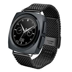Generic A11 Metal Strap Bluetooth Smart Watch, Heart Rate / Pedometer / Sleep Monitor / Sedentary Reminder / Camera Remote Control(Black). Smart Electronics. Smart Watches. Wearable Technology. Cell Phones & Accessories. Smart Wearable.