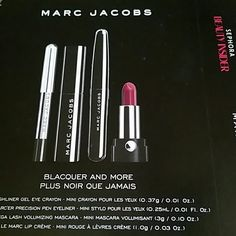 New Marc Jacobs by sephora cosmetics Never used 4 pieces, price for trade is $30 Sephora Makeup Lipstick