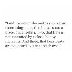 I realized this with you