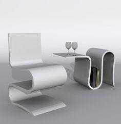 Jenagh Chair Design by Amir Masoud Faridizad | Modern Chairs ...