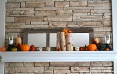 fall mantle by rachael