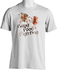 Karate Kung Food Fighting Funny T Shirt Humour Celebrity Chef -  Free Shipping #TShirtsRule #GraphicTee