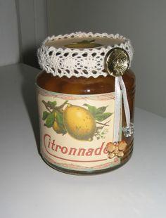 ingemaakte citroen schijfjes