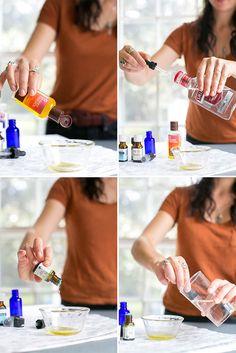 HOW TO: Make Your Own Citrus Sunshine Perfume | http://helloglow.co/how-to-make-perfume/
