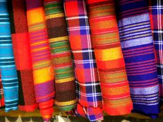 Kenya Fabric STORES | The fabric worn in Maasai land is bright and bold.