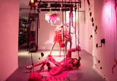 Lanvin - Fashion Window Display - Visual Merchandising