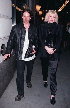 JEFF BUCKLEY AND COURTNEY