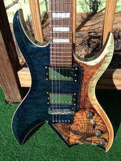 B.C. Rich Masterpiece Bich Electric Guitar Custom!!!!!