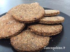 Un biscotto che ci fa bene?? Un sogno, no è realtà, i Biscottoni al Grano Saraceno e Frutta Secca nascono senza farine raffinate, burro e senza glutine.