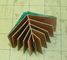 Fishbone Folding Technique. PDF instructions available.