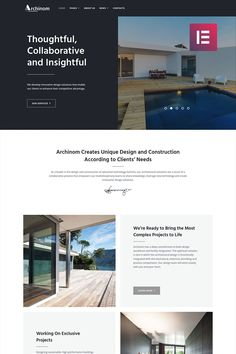 13 best elementor templates images design web website designs rh pinterest com