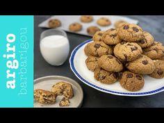 Chocolate chip cookies χωρίς γλουτένη • Argiro Barbarigou - YouTube