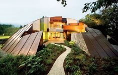 "Copper Dome House is a ""Puzzling"" Garden Home 