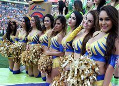 Hermosas Porristas D Los Tigres De La U.A.N.L