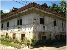 Bahay na Tisa, Carcar Cebu: Touted to be the first stone structure in Carcar, Cebu, this ancestral house dates back to the The house went through restoration work in 1989 and was renamed as Bahay na Tisa –after the original brick-tile roofing –tisa. Filipino Architecture, Philippine Architecture, Roof Architecture, Colonial Architecture, Spanish House, Spanish Colonial, Spanish Style, Filipino House, Philippines House Design