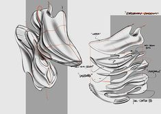 Shoe Sketches, Running Shoes, Running Gear, Tool Design, Designer Shoes, Footwear, Industrial Design, Adobe Illustrator, Behance