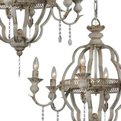 White Chandelier, Chandelier Shades, Chandelier Lamp, Chandeliers, Farmhouse Kitchen Lighting, Farmhouse Light Fixtures, Dining Lighting, Old World Style, Antique Farmhouse