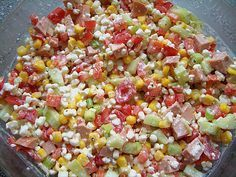 Hüttenkäse - Salat 17 - Easy Food Ideas for Travelling - Salat Healthy Eating Tips, Healthy Salad Recipes, Healthy Nutrition, Healthy Snacks, Clean Eating, Authentic Mexican Recipes, Mexican Food Recipes, Arroz Al Curry, Cottage Cheese Salad