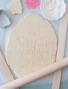 recipe for perfect sugar cookies
