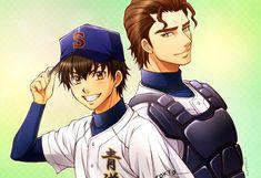 Sawamura Eijun & Takigawa Chris Yuu | Diamond no Ace