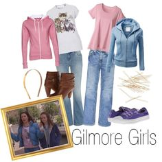 """""""2 X 15 Lost and Found - Rory 1 and Lorelei 1 - Gilmore Girls"""" by faedissey on Polyvore"""