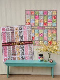 Cute quilts for kids! (not a tutorial) by Heather Mulder Peterson.