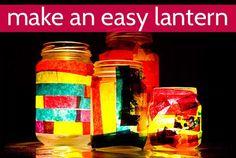 DIY Lanterns : DIY Easy Art for Kids: Make a Lantern