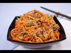 Chinese Cuisine - What's Worth a Try! Best Chinese Restaurant, Tasty Videos, Korean Food, Low Carb Keto, Japchae, No Cook Meals, Free Food, Carne, Main Dishes