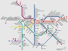 sao paulo metro and bus